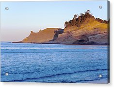 Acrylic Print featuring the photograph Pacific City Cape Kiwanda Morning by Rospotte Photography