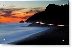 Pacific Coast Highway Acrylic Print
