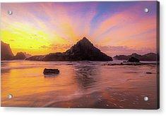 Pacific Northwest Paradise Acrylic Print