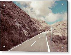 Paekakariki Hill Road Acrylic Print