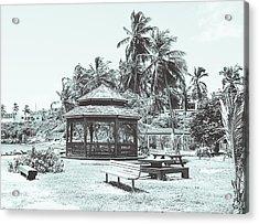 Pagoda On The Sea Acrylic Print