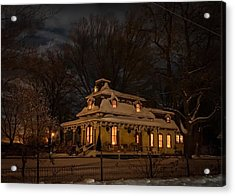 Painted Lady In Winter Acrylic Print