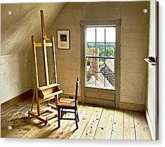 Painters Loft Acrylic Print