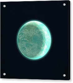 Pale Blue Dot Acrylic Print