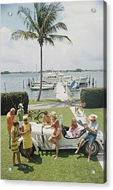 Palm Beach Society Acrylic Print