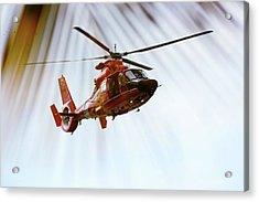Palm Chopper Acrylic Print