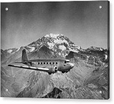 Pan Am Grace Acrylic Print by Hulton Archive