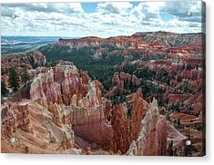 Panorama  From The Rim, Bryce Canyon  Acrylic Print