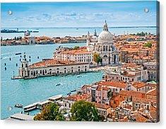Panoramic Aerial Cityscape Of Venice Acrylic Print