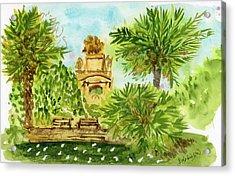 Parc De La Ciutadella Acrylic Print