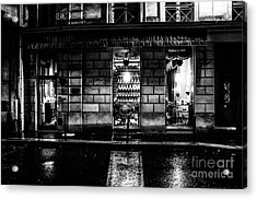 Paris At Night - Rue Bonaparte 2 Acrylic Print