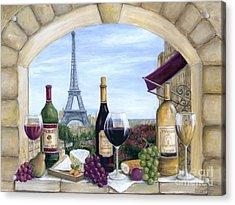 Paris Delights Acrylic Print