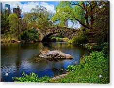 Park Bridge2 Acrylic Print