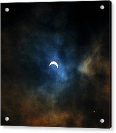 Partial Eclipse Acrylic Print