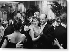 Party At Romanoffs Acrylic Print by Slim Aarons