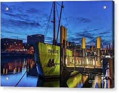 Party Boat Acrylic Print
