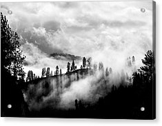 Passing Storm Central Idaho Mountains Acrylic Print