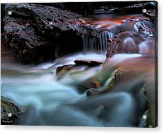 Passion Of Water Acrylic Print