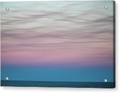 Pastel Clouds Acrylic Print