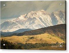 Pastoral Peaks  Acrylic Print