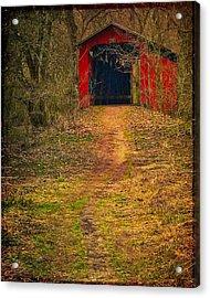 Path To Bridge Acrylic Print