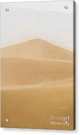 Patterned Desert Acrylic Print