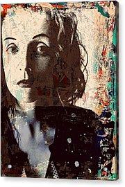 Patty Griffin Acrylic Print