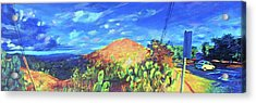 Pause On Mulholland Drive Acrylic Print