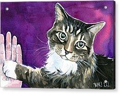 Paw Love Acrylic Print