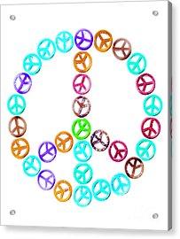 Peace United Acrylic Print
