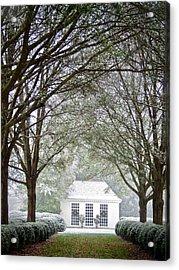 Peaceful Holiday Acrylic Print
