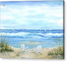 Peaceful Seascape Acrylic Print