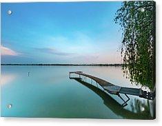 Peacefull Waters Acrylic Print
