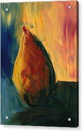 Pear #3 Acrylic Print