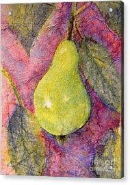 Pear Acrylic Print