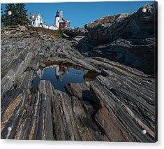 Acrylic Print featuring the photograph Pemaquid Lighthouse by Rick Hartigan