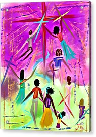 People Of The Cross Acrylic Print