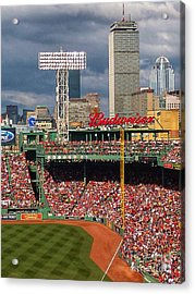 Peskys Pole At Fenway Park Acrylic Print