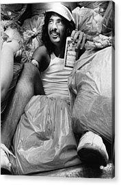 Photo Of Alice Cooper Acrylic Print