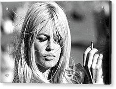 Photo Of Brigitte Bardot Acrylic Print