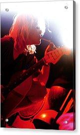 Photo Of Courtney Love And Hole Acrylic Print