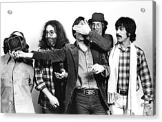 Photo Of Grateful Dead Acrylic Print