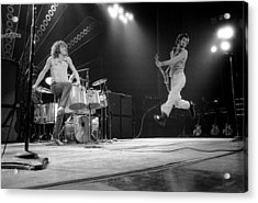 Photo Of Pete Townshend And Roger Acrylic Print