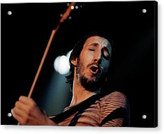 Photo Of Pete Townshend And Who Acrylic Print