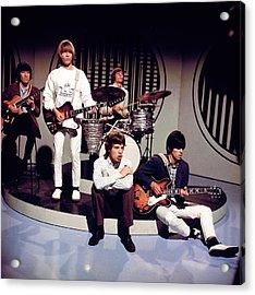 Photo Of Rolling Stones Acrylic Print by David Redfern