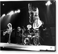 Photo Of Who And Roger Daltrey And Pete Acrylic Print