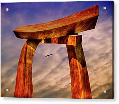 Pi In The Sky Acrylic Print