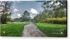 Pickerington Ponds Walkway Acrylic Print