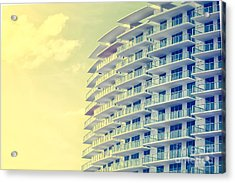 Picture Of Buildings And Architecture Acrylic Print