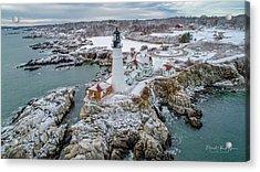 Picturesque Maine  Acrylic Print